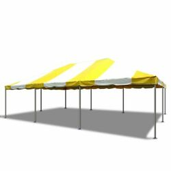 Commercial Canopy Tent Party Gazebo 20x30 Yellow Pvc Weekender West Coast Frame