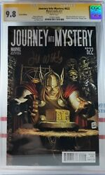 🌟 Cgc 9.8 Journey Into Mystery 622 Signed Thor Hollywood Variant 🔑 1st Ikol