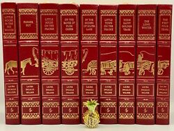9v Easton Press The Little House On The Prairie Collectors Edition Leather Bound