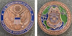 Department Of State Diplomatic Security Service Challenge Coin Usms Cbp Dea Fbi