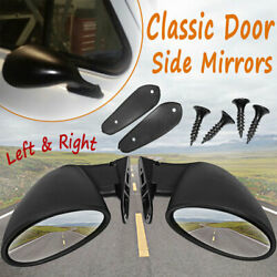 Universal Mirrors Rearview Custom Hot Rod Classic Sport Racing Car Left + Right