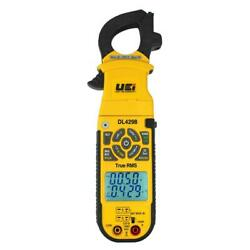 Digital Clamp On Test Meter Wireless Detects Differential Temperature Voltage
