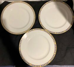 Myott Son And Co. Ardmore Plates Made In England Set Of 3 10 Plates