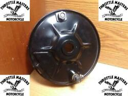 Rear Mechanical Brake Backing Plate Assembly For Harley Rigid Panhead Knuckle