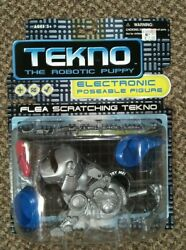 Tekno The Robotic Puppy Flea Scratching Toy Quest New Working