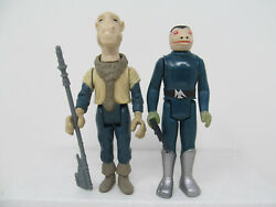 Yak Face And Blue Snaggletooth Repro Vintage-style Star Wars Stan Solo Figures