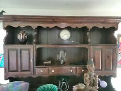 Ethan Allen Dining Room Solid Pinewood Hutch