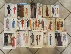 Lot Of 59 Vintage Sewing Patterns 1960s-1990s Simplicity Mccalls Vogue Butterick