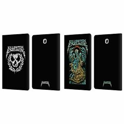 Official Killswitch Engage Tour Leather Book Case For Samsung Galaxy Tablets