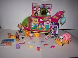Littlest Pet Shop Blythe Jet Airplane W/blythe,pets,luggage,lip Gloss And More