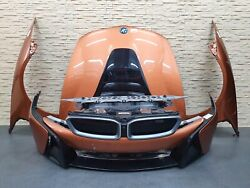 Bmw I8 Front End Complete Bumper Radiator Hood And Fenders