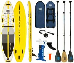 Brunelli 10.8 Premium Sup De Surf-board Stand Up Paddle Isup Carbon-paddel
