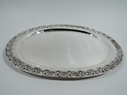 English King Tray - 5748 - Antique Edwardian - American Sterling Silver