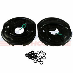 Left And Right Pair Of 10 X 2-1/4 Trailer Electric Brake Assembly With Gaskets