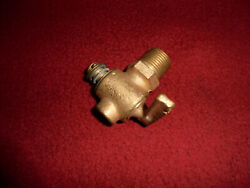 N.o.s Brass Pet Cock Drain Valve Hit And Miss Gas Engine Stover Fuller And Johnson