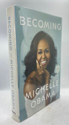 Michelle Obama / Becoming Signed 1st Edition 2018