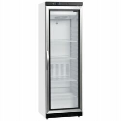 New Auto Defrost Glass Door Shop Display Freezer Tefcold Uf400vg Free Delivery