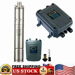 Dc 72v Solar Power Water Pump Farm Ranch Submersible Bore Hole Deep Well 525ft