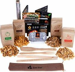 Grill Cooking Set For Smoking Wood Chips Variety/smoker Box/bbq Tools And