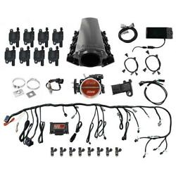 Fitech 79004 Ls Kit Ls1/ls2/ls6 750hp W/ Led Coil Pack And Trans