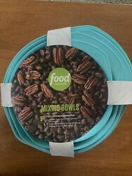 Food Network Mixing Bowls And Measuring Cup+spoon Set