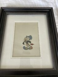Jiminy Cricket Original Celluloid Drawing Used In A Walt Disney Production
