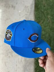 Reds Hat Club Exclusive Cereal Pack Cookie Crisp 7 3/4 Fitted Hat Uv Myfitteds
