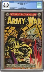 Our Army At War 15 Cgc 6.0 1953 3712150013