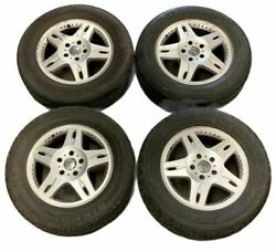 4pc 18 Set Rims And Tires 7.5j X 18 A4634011202 R18 Fitand039s 02-06 Mercedes G-wagon
