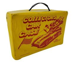 Vintage Tara Toy Corp Collectors Car Case Holder Carrier Holds 24 Die-cast Cars