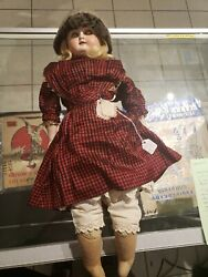 Vintage Abc Toy Co Composition/cloth Doll18andrdquo 1800s Read History Clothes