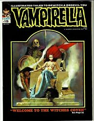 Vampirella 15 Jan. 1972, 9.6nm Mint Welcome To The Witches Coven Rare Issue