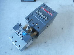 Abb 3 Pole Contactor + Overload - 58kw 140amp 240ac Coil -- A110-30 -- Ta110 Du