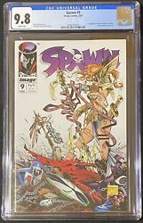 Spawn 9 Cgc 9.8 Wp 1st Appearance Angela And Medieval Spawn Mcfarlane Image 1993