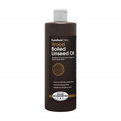 Furniture Clinic Boiled Linseed Oil For Wood Furniture And More | 500ml Refined |