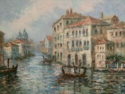 Marie Charlotte Venice Italy Oil Painting 36andrdquox24andrdquo