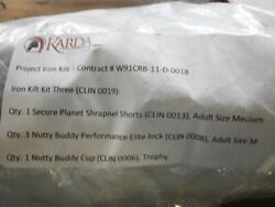 Nutty Buddy Athletic Support Cups Lot Of 285