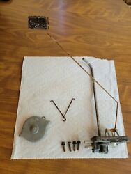 Vintage Johnson Outboard Motor Boat Gas Can Inner And Outer Fuel Gauge Parts