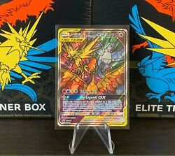 Pokemon Hidden Fates Moltres Zapdos Articuno Gx Stained Glass Promo Pack Fresh