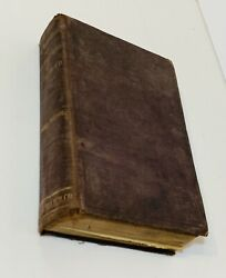 Rare Antique German Book Of Medicine Illustrated 859 Pages