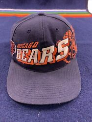 Vintage Chicago Bears Sports Specialties Shadow Snapback Hat 90s Nfl Pro Line