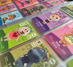 Animal Crossing Amiibo Cards Series 1 #001 100 Authentic Mint lt;$5 Choose
