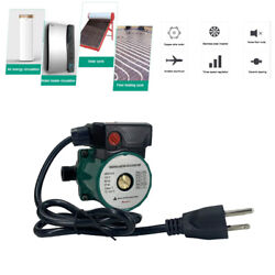 Npt 3/4and039and039 Water Circulation Automatic Pump 3-speed Domestic Household Pump Green