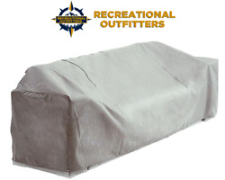 White Imperial Pontoon Boat Lounge Seat Cover