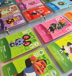 Animal Crossing Amiibo Cards Series 2 #101 200 Authentic Mint lt;$5 Choose