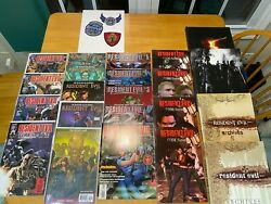 Rare Ultimate Resident Evil Comic And Guide Collection