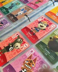 Animal Crossing Amiibo Cards Series 3 #201 300 Authentic Mint lt;$5 Choose