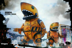 New In Stock Merry Go Round Mecha Shark Lords 2018 Limited Collectible Figure