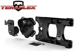 Teraflex Hd Hinged Carrier And Spare Tire Mounting Kit For 07-18 Jeep Wrangler Jk