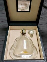 Hennessy Richard Exclucive Crystal Cognac Decanter Baccarat With Display